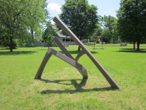 Trajectoire No. 2 by Claude Millette, Musée Plein Air de Lachine