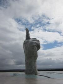 finger of Northumberlandia, Lady of the North