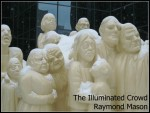 The Illuminated Crowd, sculpture by Raymond Mason