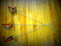 three sabers