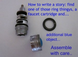 spare parts for writing a story