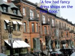 "Crescent Street, Montreal (quotation from ""The Fenton Child"" by Mavis Gallant"