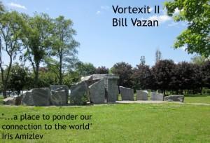 Vortexit II, Bill Vazan, Réné-Lévesque Park, Lachine, QC
