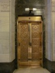 Elevator door, Dominion Building, Montreal