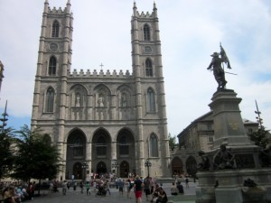 Notre Dame Cathedral, Vieux Port, Montreal