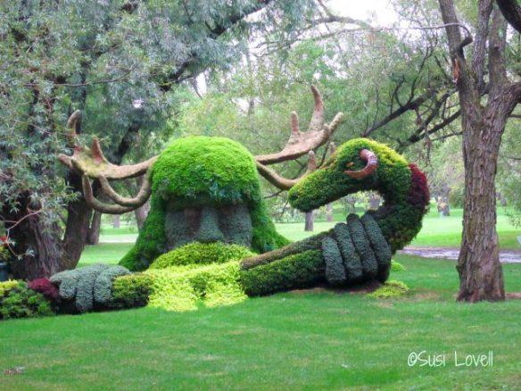 Cernunnos, Mosaïcultures Internationales, Montreal Botanical Gardens, 2013