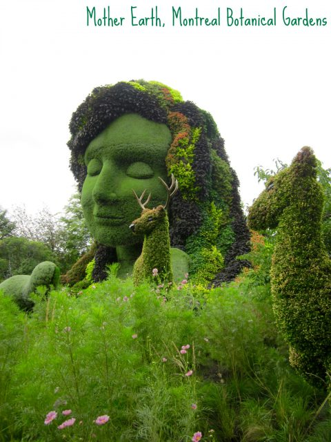 Mother Earth, Montreal Botanical Gardens, 2013