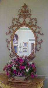 mirror, Georgian House, Edinburgh