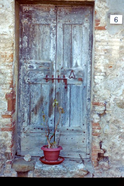 Door of number 6