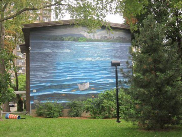 mural Montréal