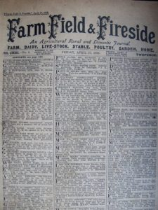 Farm Field & Fireside, Friday April 27, 1928