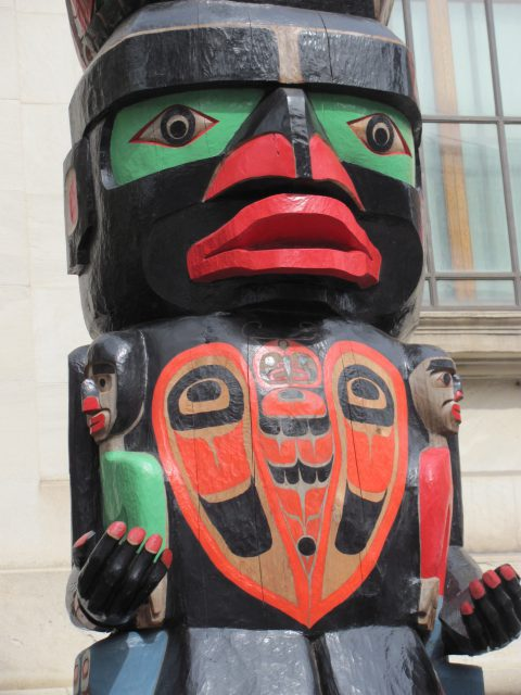 The Residential School Totem - Charles Joseph