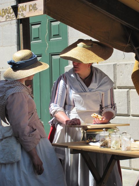Montreal's 18th Century Market