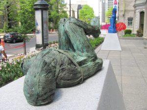 Luban Boykov (Canada), Montreal Balade pour la Paix/Outdoor Art Museum, 2017