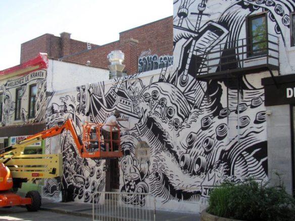 Jason Wasserman (Canada) Montreal Mural Festival 2017
