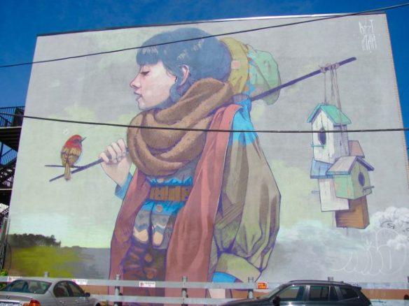 Bezt (Poland) Mural Festival, Montreal, 2017