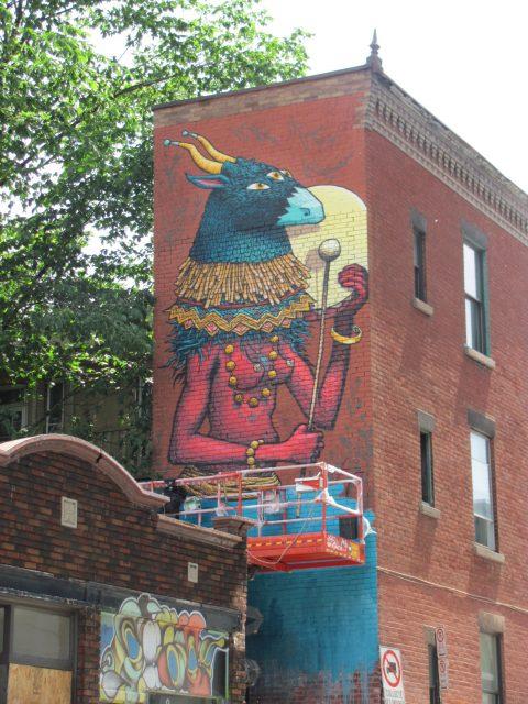 Sbu One (Canada) Montreal Mural Festival 2017