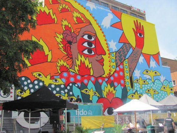 Ricardo Cavolo (Spain), Montreal Mural Festival 2017
