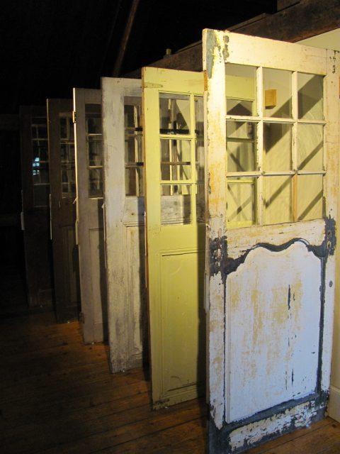 door museum at Moulin de La Chevrotiére, QC