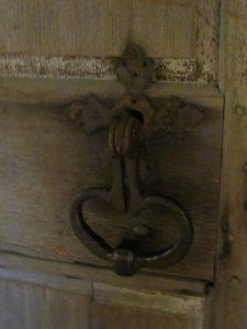 door museum at Moulin de La Chevrotière, QC